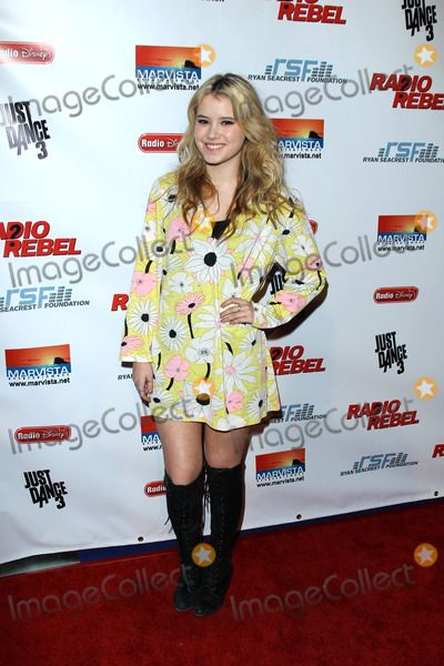 "LOS ANGELES - FEB 15:  Taylor Spreitler arrives at the ""RADIO REBEL"" Telefilm Premiere at the AMC CityWalk Stadium 19 on February 15, 2012 in Los Angeles, CA"