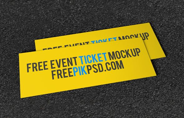 Free Concert Tickets Mock up PsdFree event concert ticket mock up is highly recommended mock up file and such category of mock ups can rarely found in any other platform as well. We provide a very important layer in this mock up which is responsible for…