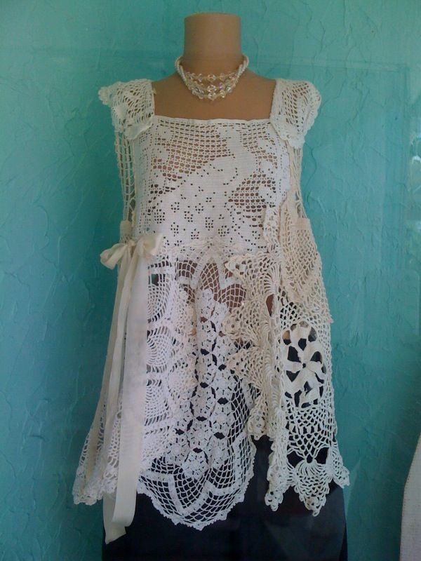 This lace top over a long boho black skirt with black ballet flats would be lovely.
