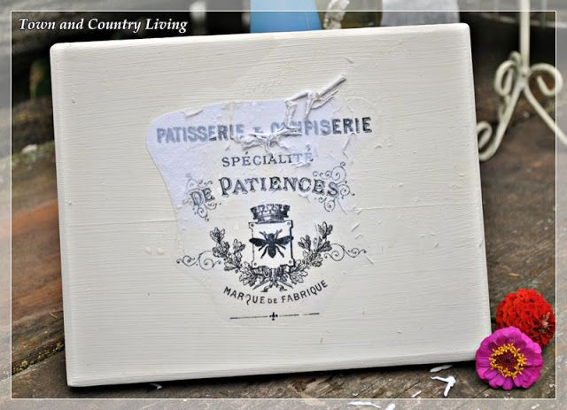 How to Transfer Graphics with Mod Podge - Town & Country Living