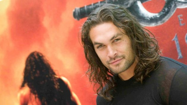 Jason Momoa. I know him as Khal Drogo from Game of Thrones... you may know him as Conan the Barbarian (2011).