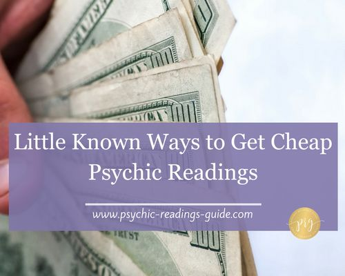 Looking for cheap psychic readings? This post from a psychic medium will give you insider secrets on the little known ways that you can get them.