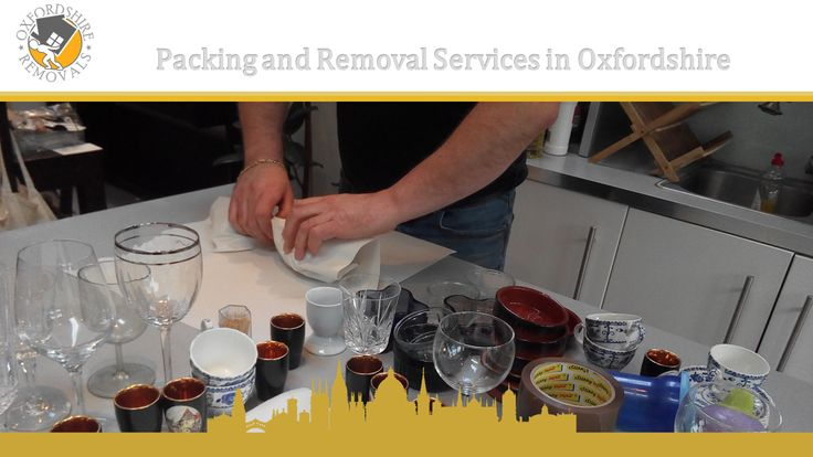 Packing and Removal Services in Oxfordshire