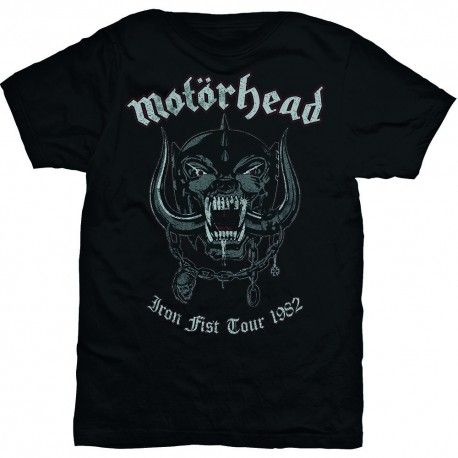 Tricou Motorhead: Grey Warpig, Iron Fist Tour 1982