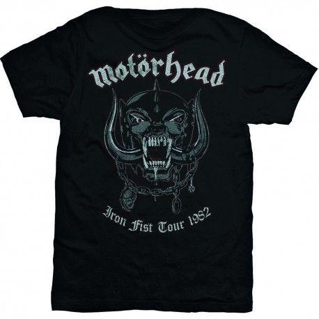 Tricou Motorhead: Grey Warpig, Iron Fist Tour 1982