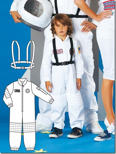 disfraz casero astronauta ms