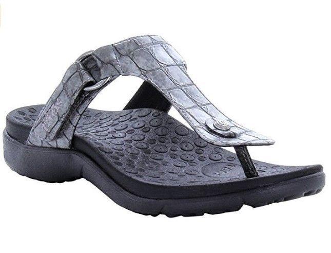TAOS Pewter Sandals Solo Slide Flip Flops Sz 11 NWOB #taos #FlipFlops #Casual