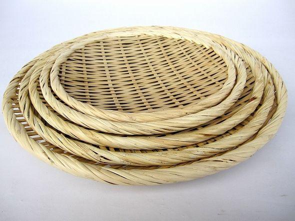 竹製 盆ざる 30cm