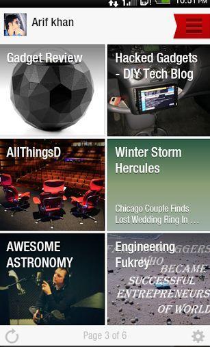 Flipboard -A Digital magazine App for all Smartphones