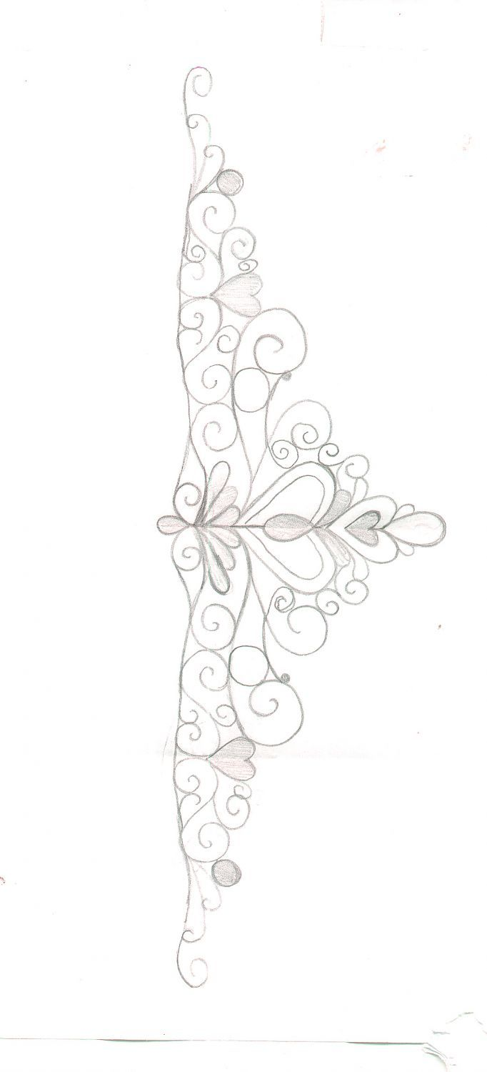 Tiara template - Here is the template I used to make my tiara, as requested. enjoy.