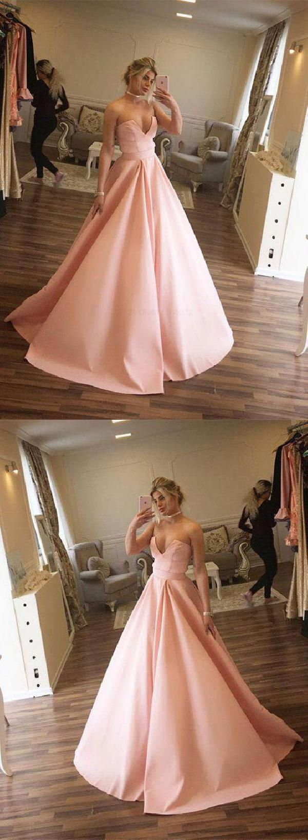 Absorbing ball gown pink in prom dresses pinterest