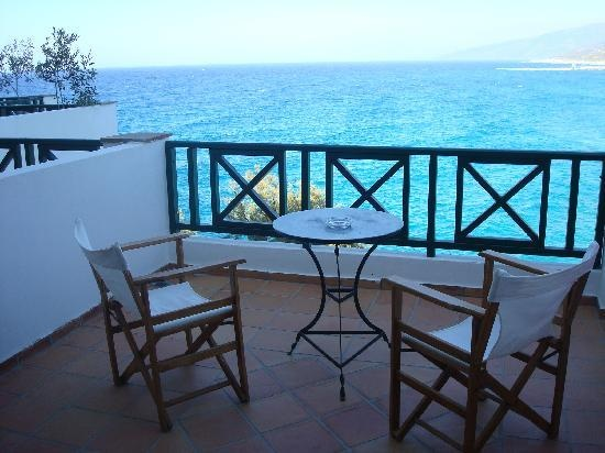 View from the room in Erofilli hotel,a simple but beautifull place in Ikaria island Greece