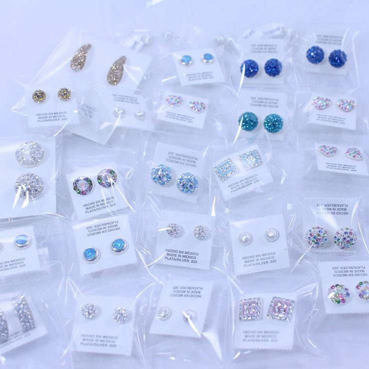 Sparkly earrings