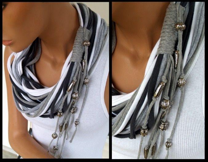 t shirt scarves | shirt scarf | DIY