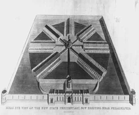 Architecture - John Havilland was another key architecture designer during this style. Here is a prison he designed.