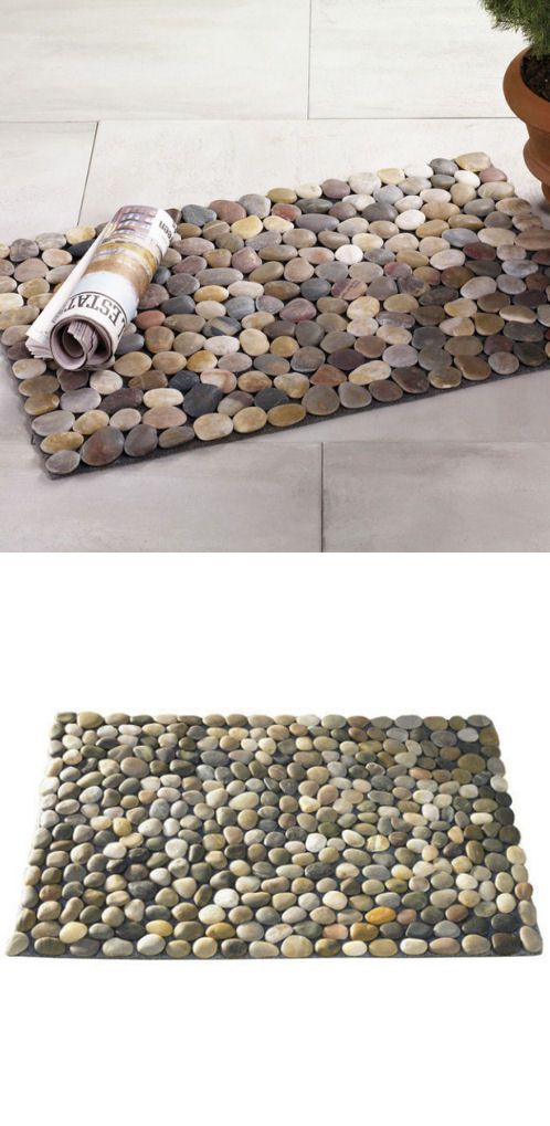 #DIY entry mat // great idea for a table runner also