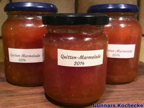 Quitten-Marmelade - #Rezept
