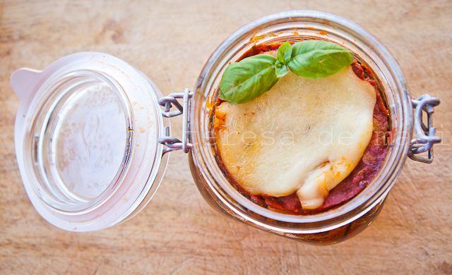 La parmigiana di melanzane in barattolo di Pietro Parisi