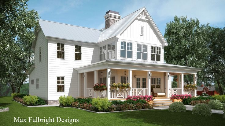 101 best images about house plans on pinterest lakes for Front porch designs for two story houses