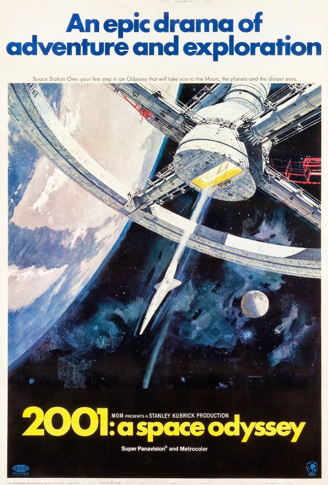 Directed by Stanley Kubrick.  With Keir Dullea, Gary Lockwood, William Sylvester, Daniel Richter. Humanity finds a mysterious, obviously artificial object buried beneath the Lunar surface and, with the intelligent computer H.A.L. 9000, sets off on a quest.
