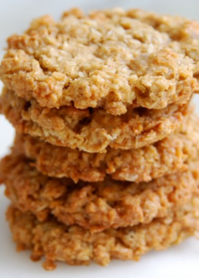 Low FODMAP Recipe and Gluten Free Recipe -  Oatmeal cookies - http://www.ibs-health.com/oatmeal_cookies.html