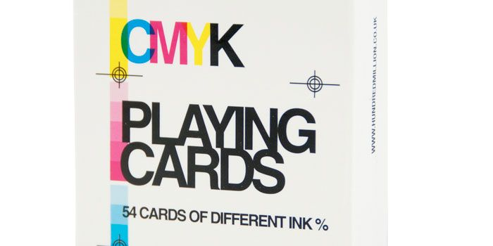 Gimme gimme gimme! CMYK playing cards!