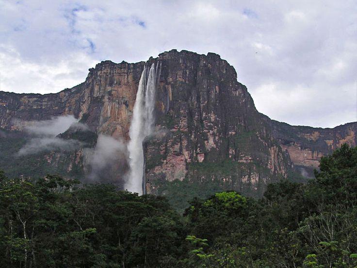 Angel vízesés Venezuelában