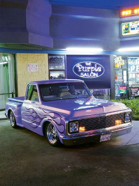 1969 Chevy Stepside - Love it! Possible paint scheme for my own 1968 Chevy Stepside project???