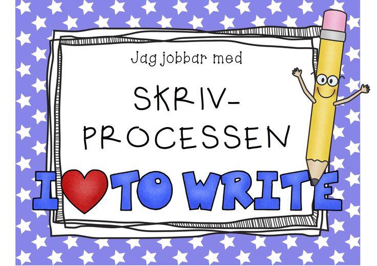 Skrivprocessen start