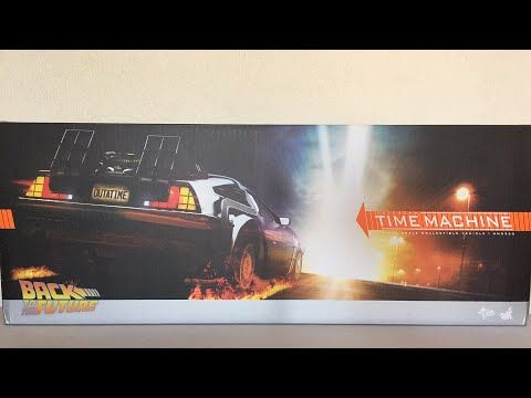 Hot Toys Back to the Future DeLorean Time Machine MMS260 Vídeo Review en...