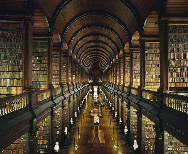 Trinity College Library Dublin, Ireland
