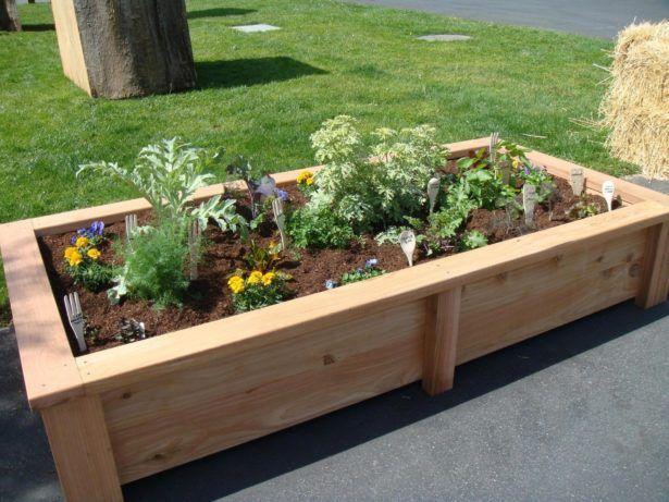 garden ideas cedar raised garden bed design cedar raised garden bed plans top raised bed garden - Raised Bed Garden Design Ideas
