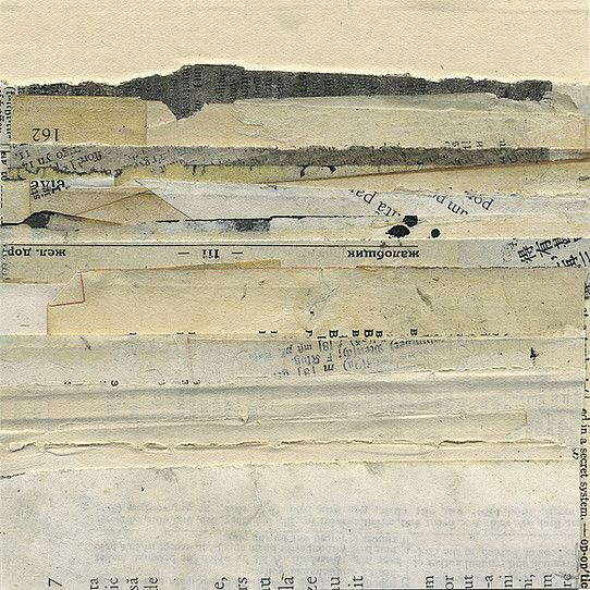 Janet Jones Collage, Mixed Media and Book Art | Mirages