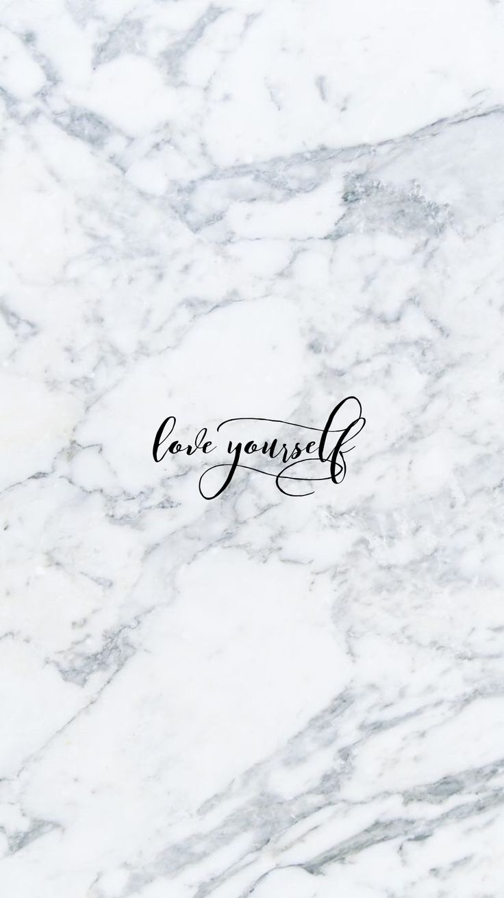Wallpaper Love Yourself : Love Yourself iPhone Wallpaper @EvaLand Fondos de iphone Pinterest Wallpaper, Phone and ...