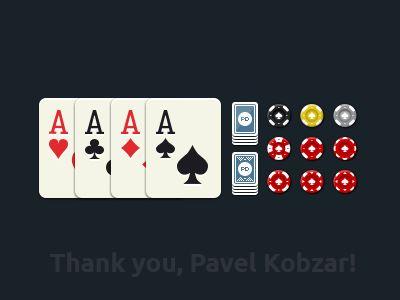 Some Poker Game graphics by Simon Kulkov
