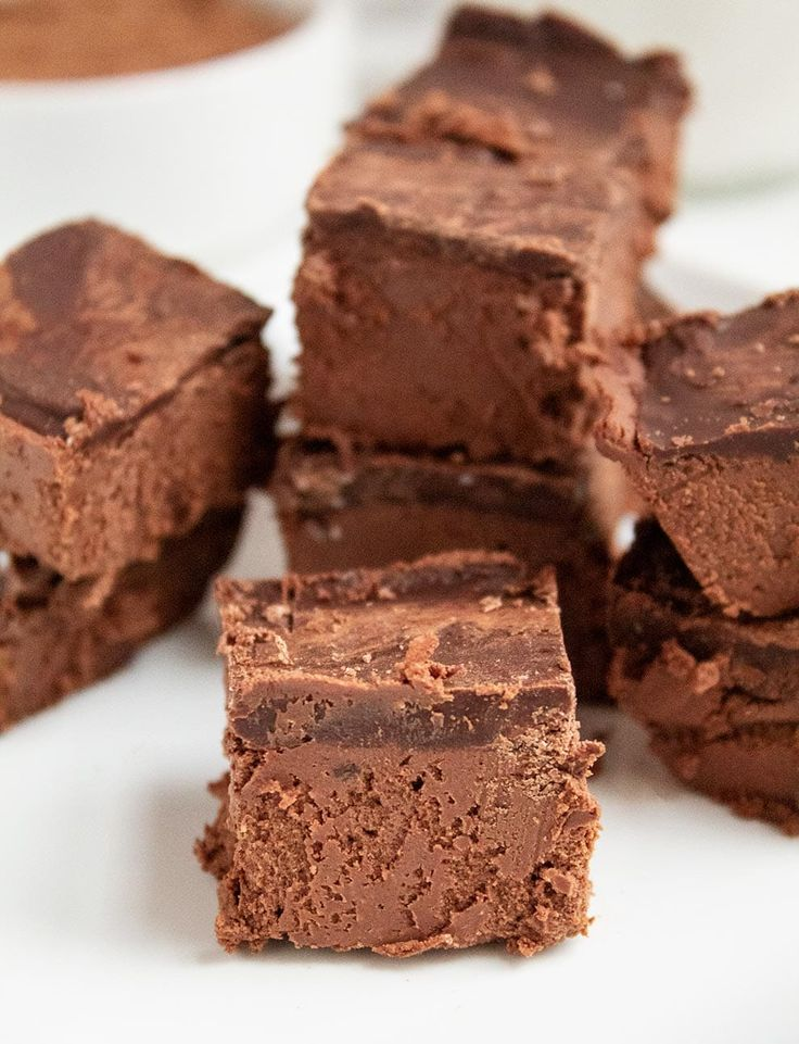 Keto Chocolate Heaven!! Yum! Once you try this rid…
