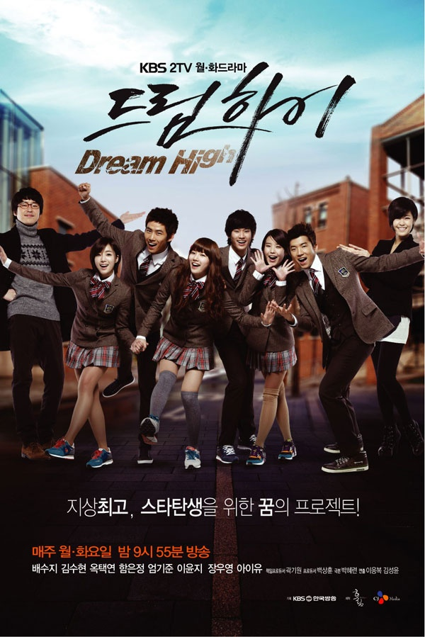 Dream High. The Cylon and Wooyoung from 2PM. And of course Kim Soo Hyun.