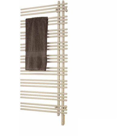 Runtal Vtrerg-5223-R001 Versus Electric Towel Radiator Plug-In, Right-Hand, 52 inchH x 23 inchW, Available in Various Colors, White
