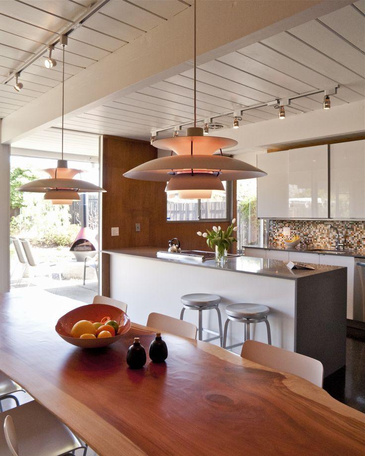 Eichler kitchen & dining area