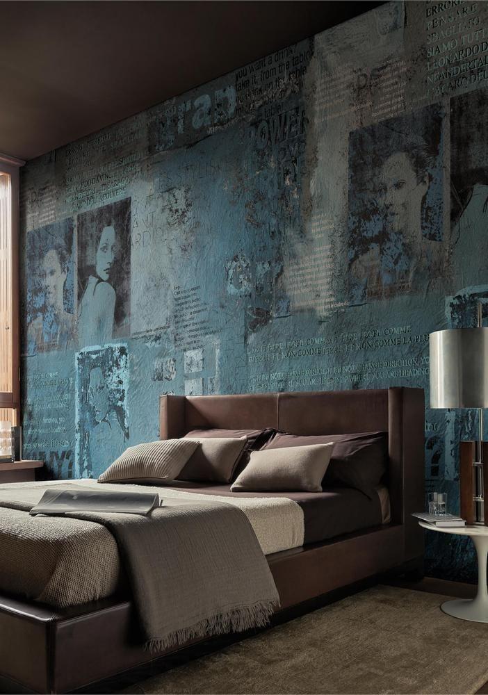 Wall design as an eye-catcher