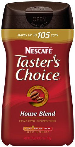 Taster's Choice Instant House Blend Coffee, 7 Ounce Canister…