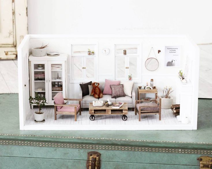 Miniature room ♡ ♡ By Spring at Last