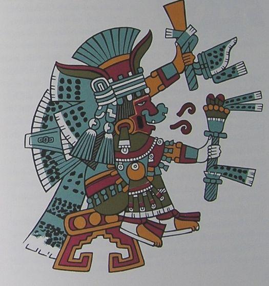 Chalchiuhtlicue, Aztec goddess of water;