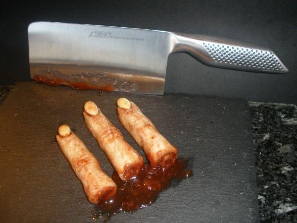 Bu! Dedos de zombie amputados. 5 Platos terroríficos de Halloween. ¿Te atreves a descubrir el resto? #JustEat #comidadomicilio