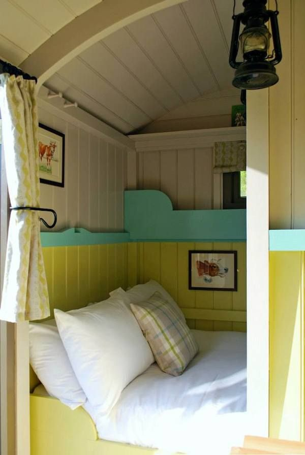 Gypsy Interior Design Dress Your Wagon  Design Your Travel Trailer  Design Inspiration-Wriggly Tin Shepherd's Huts - luxury vintage camping in Hampshire