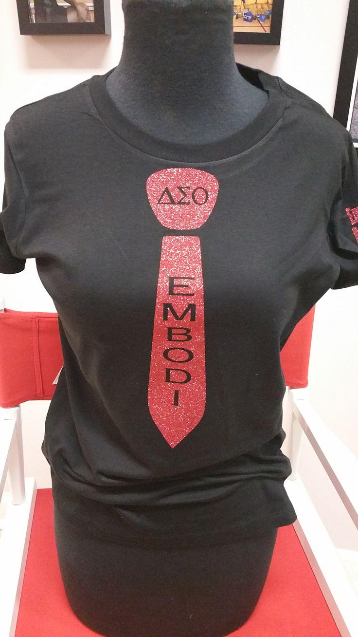 Embodi Tshirt Delta Sigma Theta Delta Girl Theta