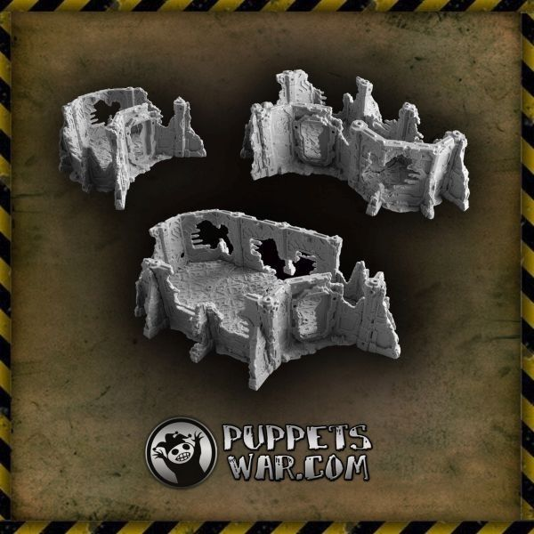 With the recent release of Outpost Segments we would like to remind that ruined versions are available too. And they are cheaper now too as one can buy them with 10% discount. https://puppetswar.eu/product.php?id_product=633