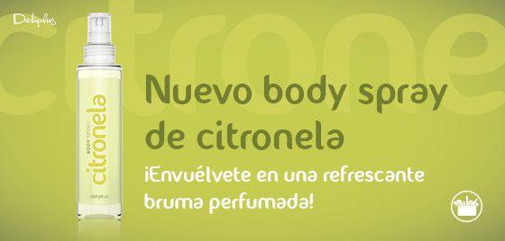 Body Spray Citronela Mercadona