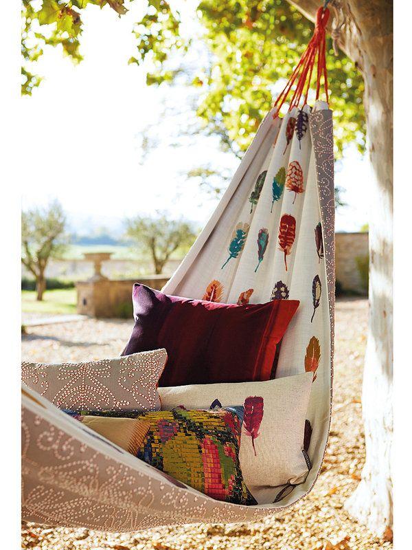 Tumbonas y hamacas para relajarse en verano
