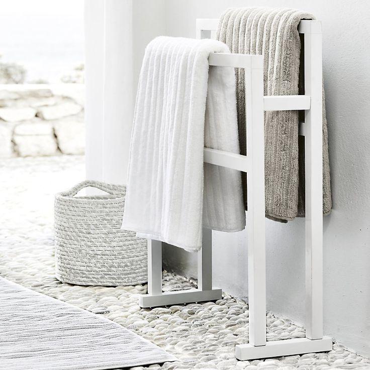 The White Company Bathroom towel rail